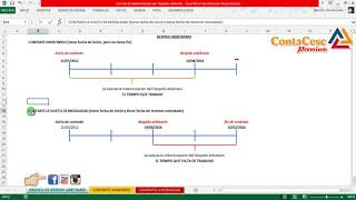 Calculo de Indemnización por Despido Arbitrario | Parte 1 de 3| Contacesc Premium