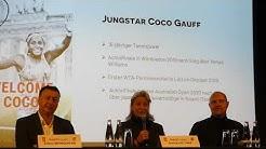 """Cori """"Coco"""" Gauff spielt bei WTA Tennis Turnier in Berlin 2020"""