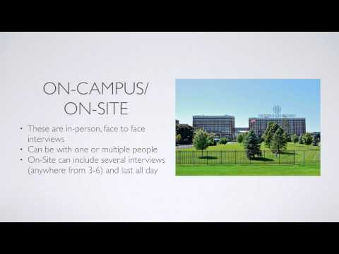 Introduction to Co-op - Interviewing (University of Cincinna