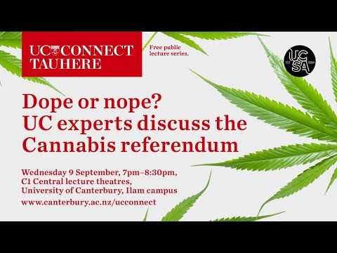 UC Connect discusses: Cannabis law referendum