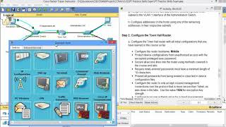 PT Practice Skills Exam Type A - Packet Tracer