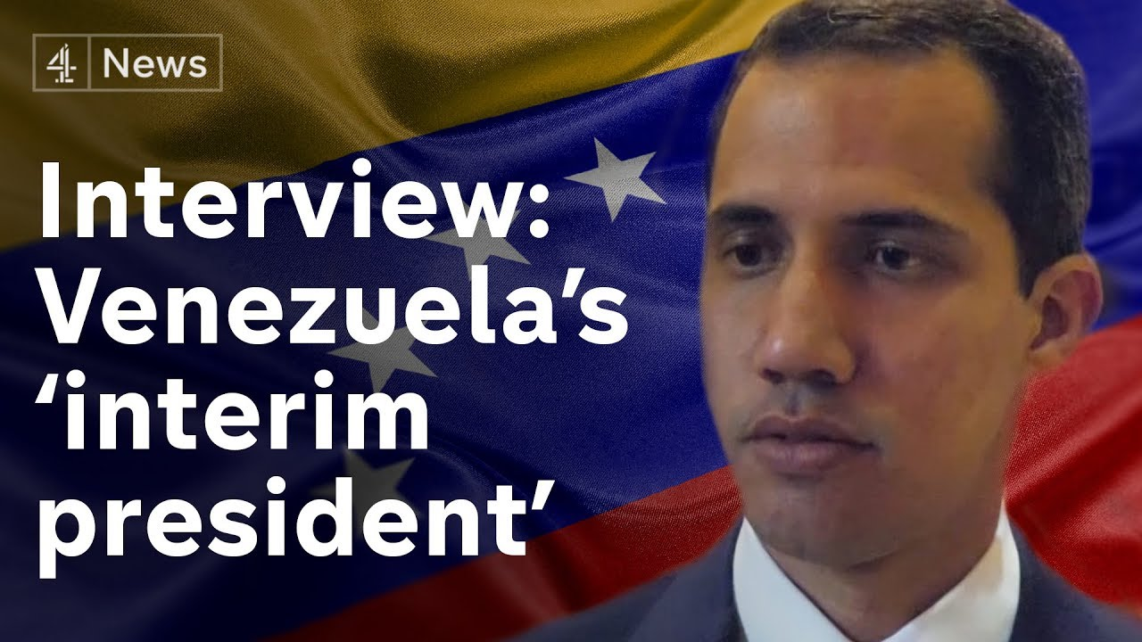 Interview with Venezuela's 'Interim president' Guaidó on Maduro and need for aid
