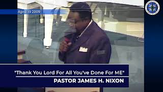 Union Missionary Baptist Church-Pastor James H. Nixon Sunday July 5th 2020