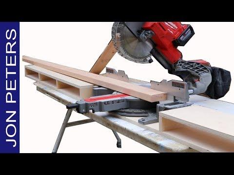 Make a Jobsite Miter Saw Station