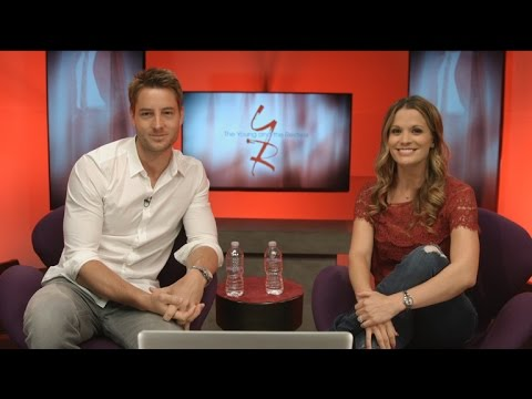 The Young and The Restless  Connect Chat feat. Melissa Claire Egan and Justin Hartley