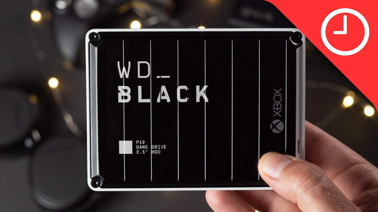 WD Black P10 HDD for Xbox One Review: Bring new life to your
