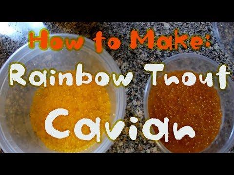 DIY Caviar! Rainbow Trout Caviar Making