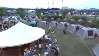 熊本県益城郡御船町テント村ードローン映像ー