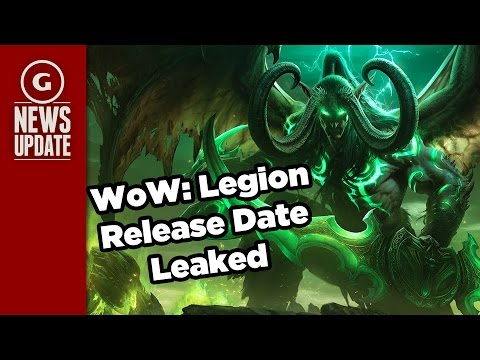 World Of Warcraft: Legion Release Date Leaked - GS News Update ...