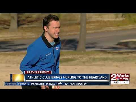 """Travis Tries It: Irish Sport """"Hurling"""""""
