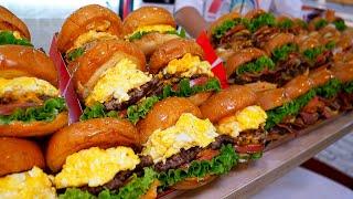 Гамбургер завоевал золотую медаль в Корее / Корейская уличная еда