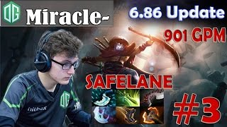 Miracle- Juggernaut vs !Attacker Pro Gameplay | with 901 GPM | Dota 2 MMR #3