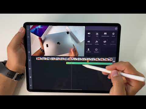 "IPAD Pro 2020 12.9"" & video editing with KineMaster pro | how to edit videos on iPad Pro"