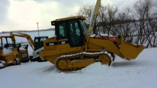 Caterpillar 953C Tracked Loader Operating Video!