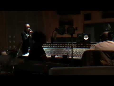 African bad gyal studio session with wizkid & chrisbrown