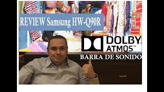 Analisis: Samsung HW-Q90R - La MEJOR Barra de Sonido DOLBY ATMOS & DTS:X (Minuto 15:39-19:07))