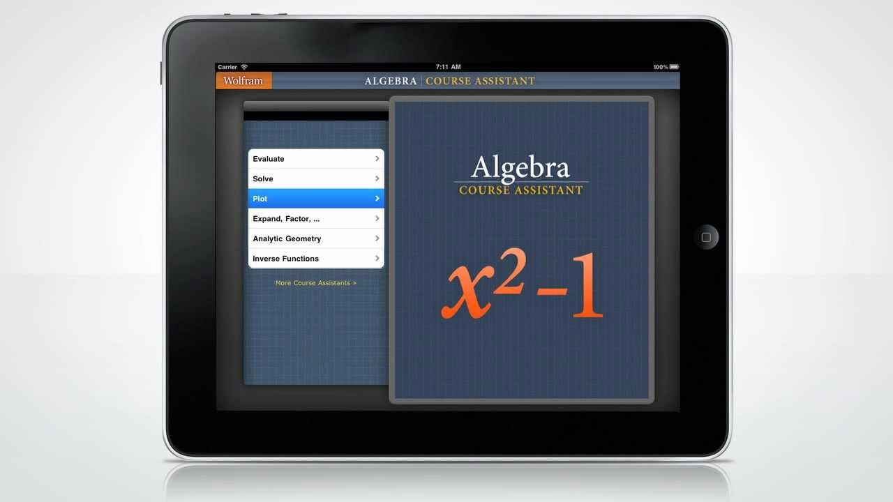 A Quick Tour of the Wolfram Algebra Course Assistant