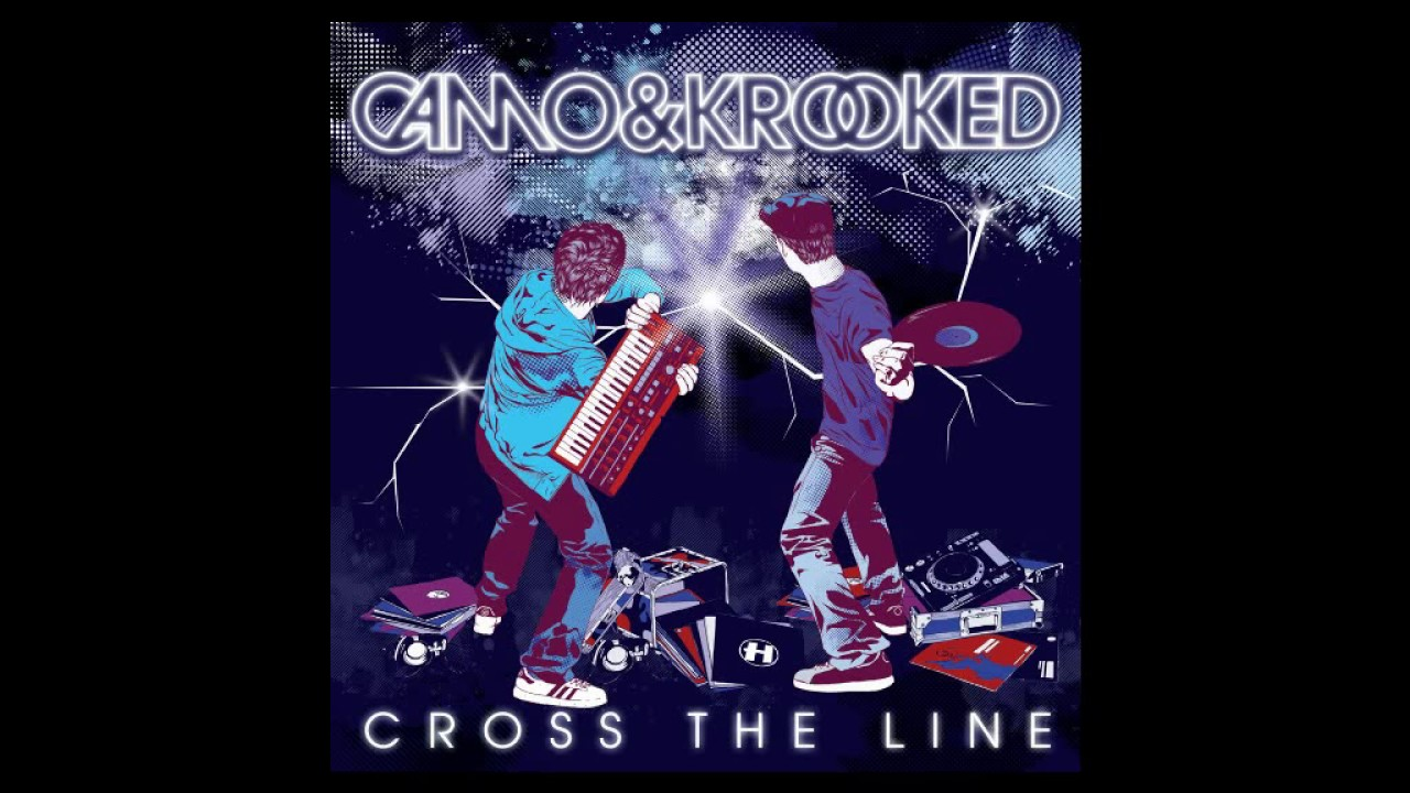 camo and krooked cross the line