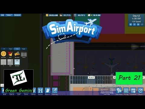 Sim Airport - Part 21 - Moving Ticketing