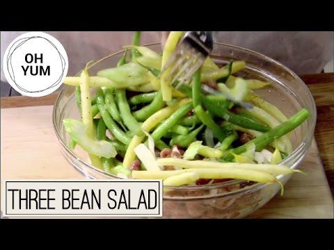 Incredible Three Bean Salad Recipe!