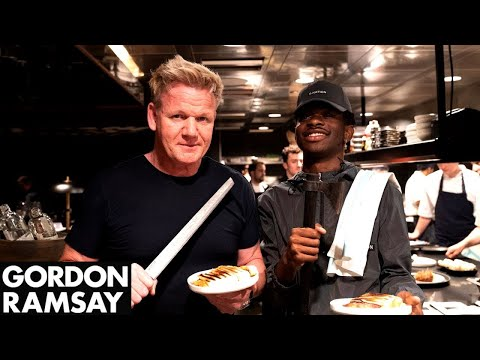 Rose - #Hollywood- It Happened. Gordon Ramsay & Lil Nas X Made Paninis