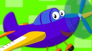wheels on the plane | nursery rhymes | kids songs | baby rhymes