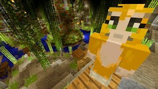 Minecraft Xbox - The Smurfs - Willow Cavern {2}