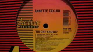 Annette Taylor - No One Knows (Eddies Hot Dub) YouTube Videos