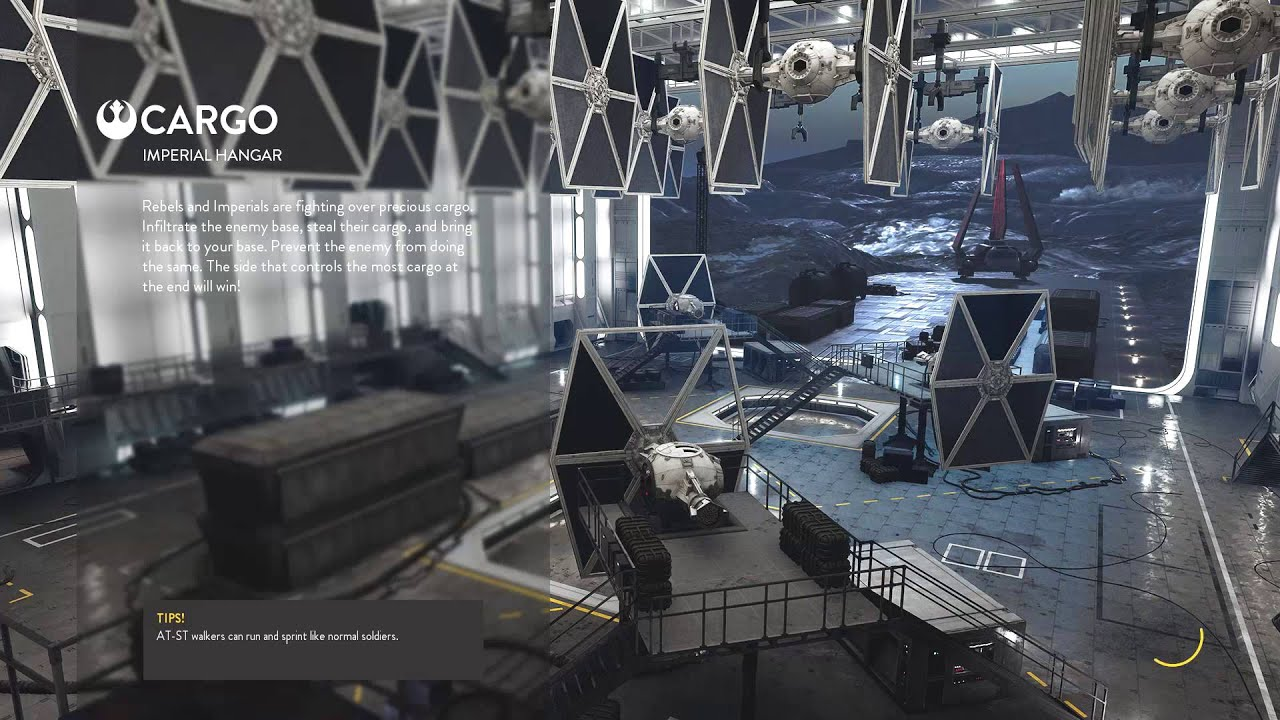 Star Wars Battlefront - Cargo on Imperial Hanger (31-8 ...