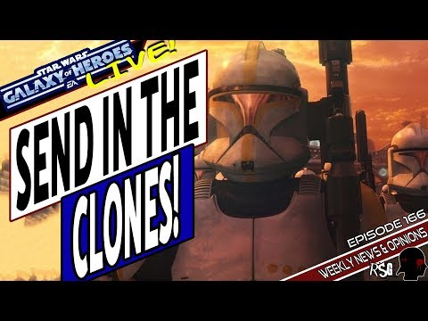 Repeat Star Wars Galaxy of Heroes Jedi Academy Episode 120