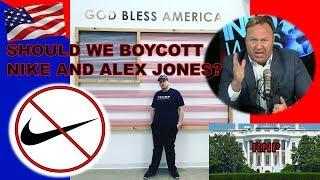 Should We Boycott Nike & Alex Jones? | Real News Politics Ep.1