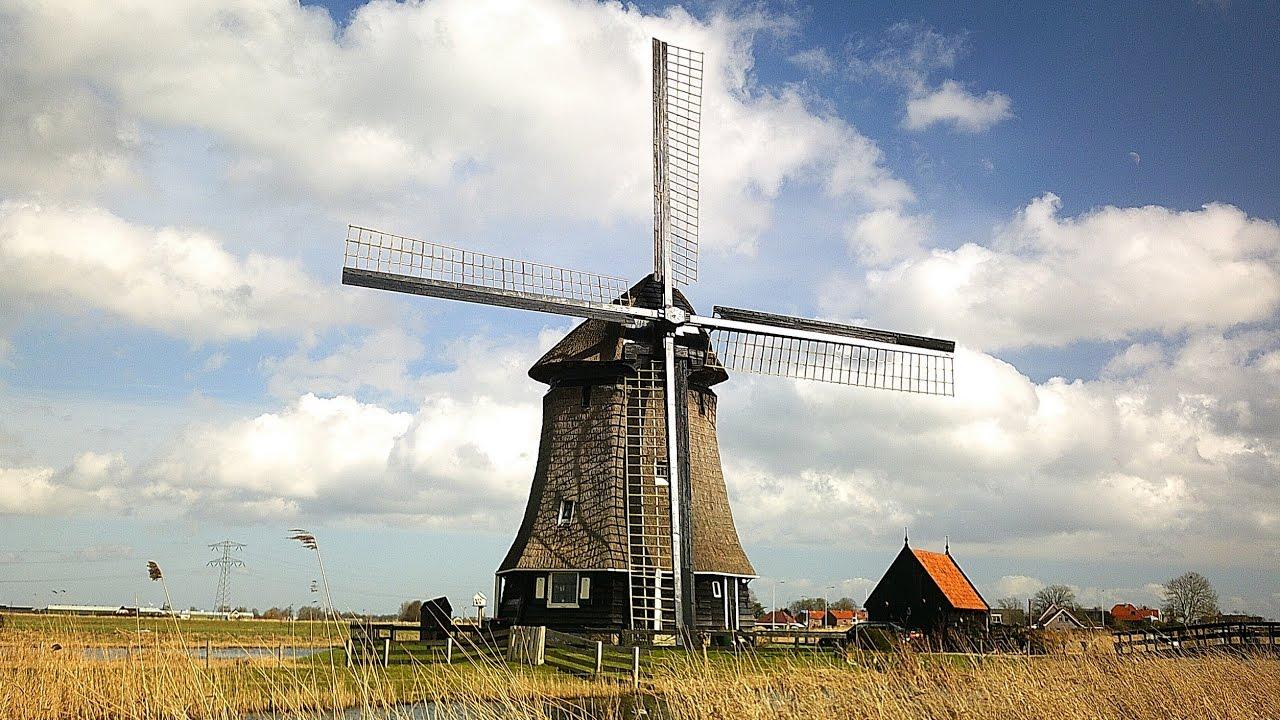 Old Dutch Windmill Paintings Defendbigbird Com