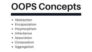 oops concepts with examples
