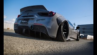 Widebody Ferrari 488 GTB Liberty Walk Performance | LB*WORKS | CINEMATIC