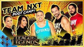 WWE vs. NXT: LEAGUE OF LEGENDS - Tyler1 gets Team NXT ready!