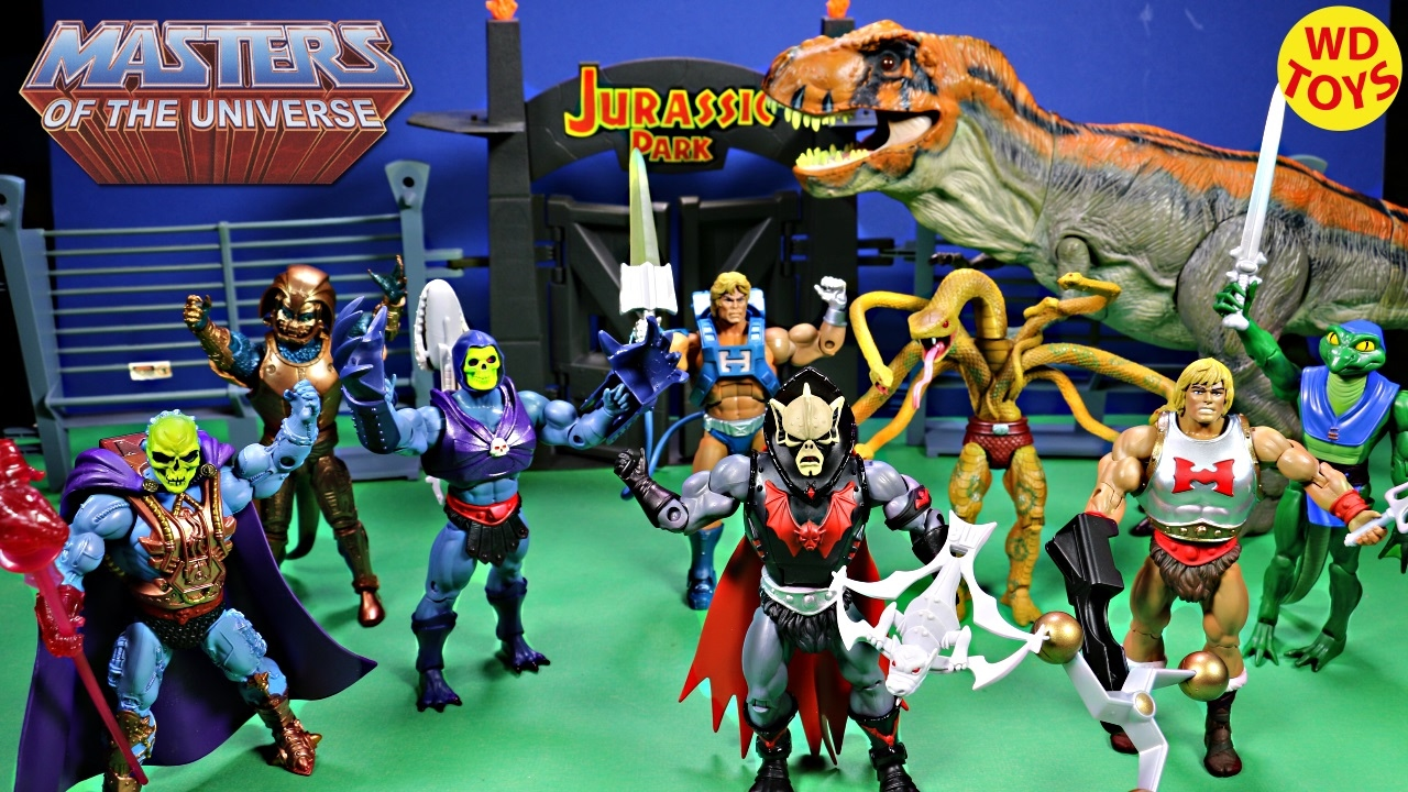 New Masters Of The Universe Buzz Saw Hordak / Bull T-Rex ...