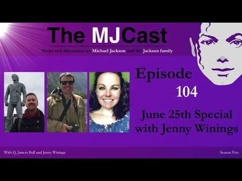 The MJCast - Episode 104: June 25th Special With Jenny Winings