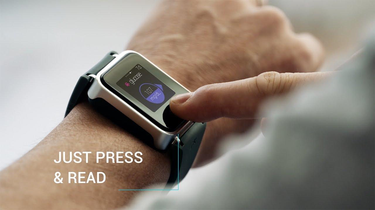 Glucose Monitoring Watch >> Pkvitality K Track Glucose Monitoring Youtube