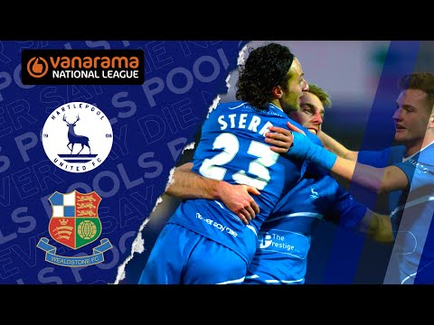 Hartlepool Wealdstone Goals And Highlights