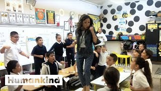 2nd graders remix Lizzo for epic class song | Humankind