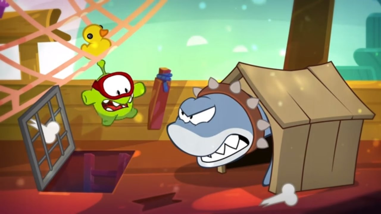 Om Nom Stories (Cut the Rope) - Around the World - The Sunken Ship