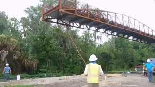 Shingle Creek Regional Trail Osceola County Pedestrian Bridge Installation July 2015 V1