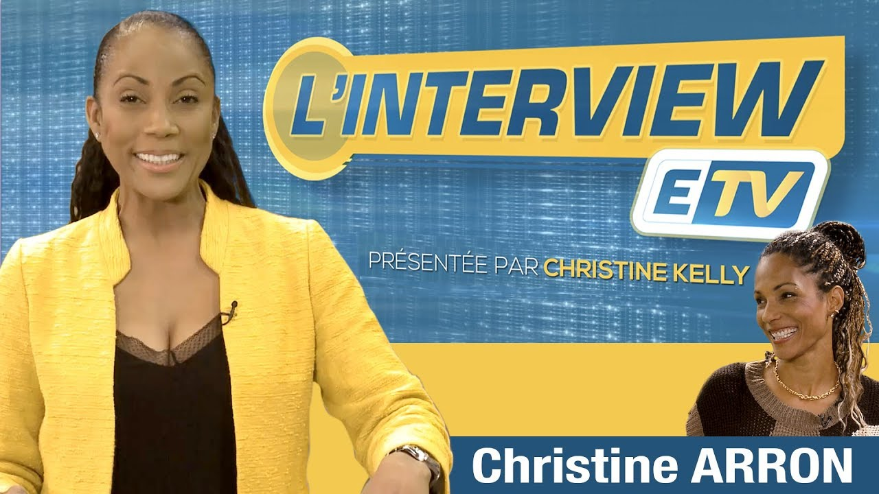 L'interview ETV- Christine ARRON ( Recordwoman du 100m en Europe et championne du monde du spri