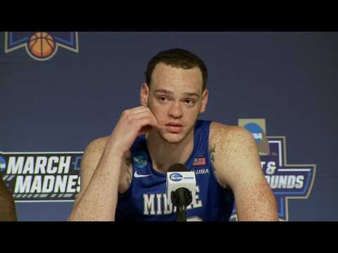 News Conference: Middle Tennessee Second Round Postgame
