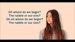 Jasmine Thompson - Pompeii (Lyrics)