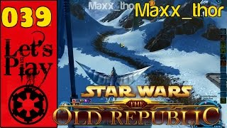 """039 - Lets Play - SWTOR - """"Too Much Travel For a Mission"""" - Best Bounty Hunter Gameplay (Dark Side)"""