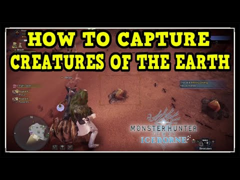 MHW Iceborne Creatures Of The Earth Trophy / Achievement Guide (Creature That Dig Holes)