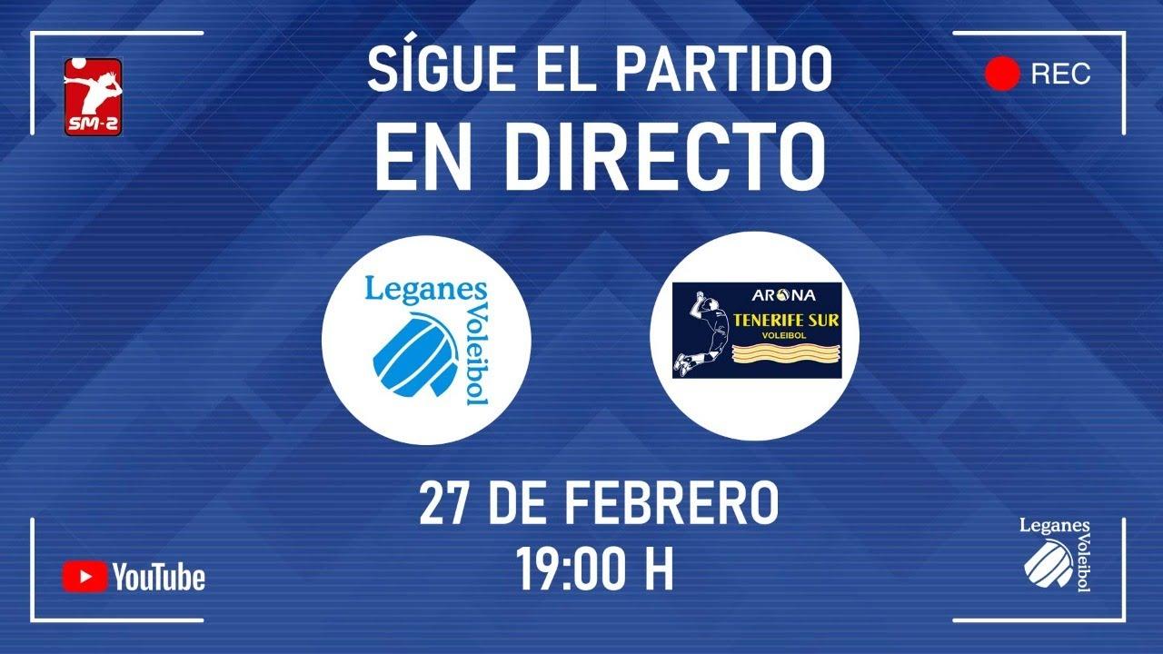 Partido Superliga 2 masculina | CV Leganés vs Arona InterSport