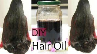 DIY:Hair Growth Oil for Long Shiny Hair | Reduce Hair Fall and Grey hair | Naturally
