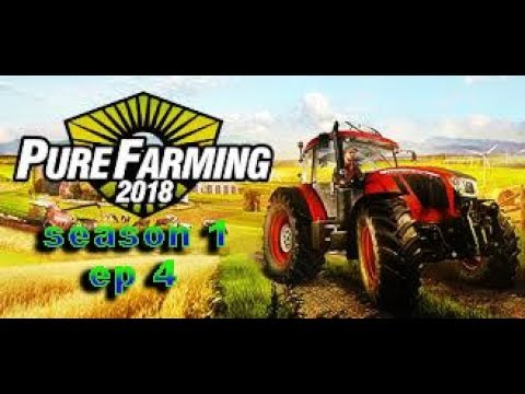 Pure Farming 2018 PS4 episode 4 campaign (irrigation & moving pears)
